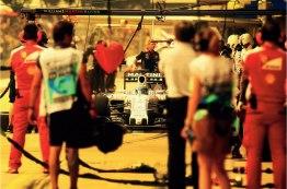 De um certo ponto de vista ainda bate na Ferrari um coração para Felipe Massa, que hoje está na Williams