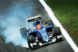 Felipe Nasr bem que se esforçou, mas para o público brasileiro ficou claro que o jovem brasiliense fez muito na temporada com a fraca Sauber