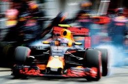 O sabor da temporada Max Verstappen sai do pit na etapa de Hockenheim Jad Sherif/WRi2
