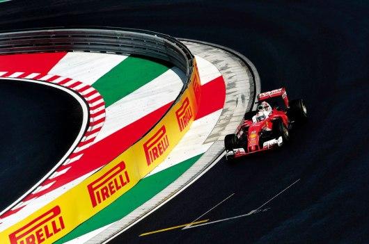 Irreconhecível o alemão Sebastian Vettel parece que adotou o destempero do humor italiano: brigas, acidentes e reclamações no melhor estilo latino Jad Sheriff/Wri2